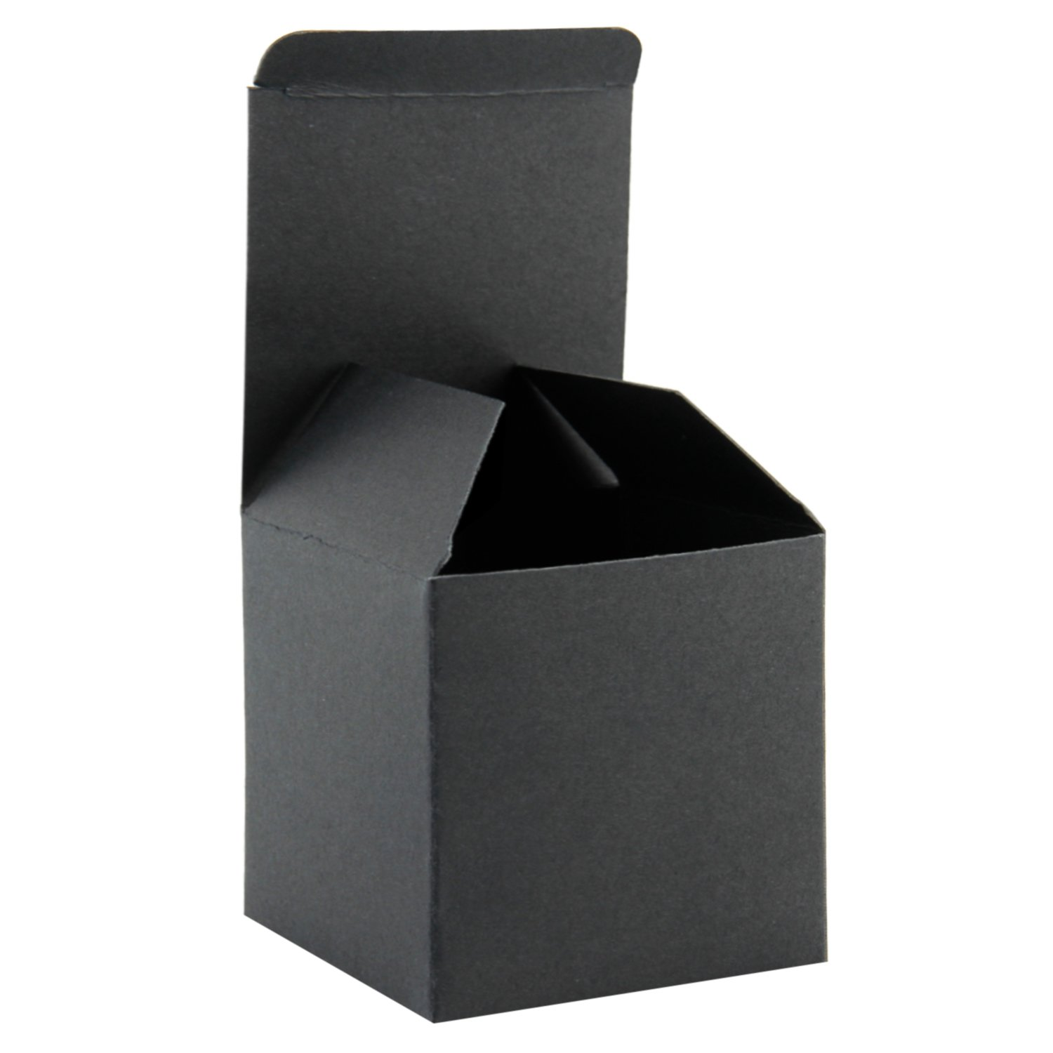 Ruspepa Recycled Cardboard Gift Boxes Small Square Gift Boxes With Lids For Party And Crafts