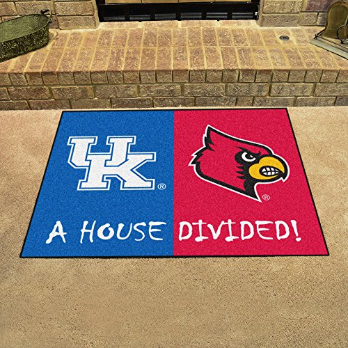 (Fanmats Kentucky - Louisville House Divided Mat)