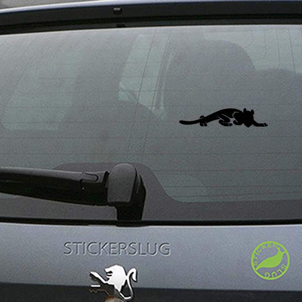 Amazon com jaguar decal sticker black 8 inch for car truck laptop b14037 automotive