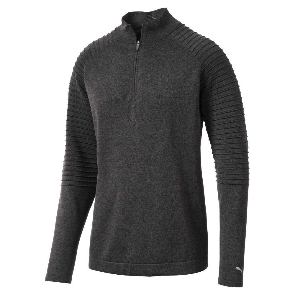 Puma Herren 576118 Evoknit 1 4 Popover Shirt, XXL, Steinbruch Quarter Zip