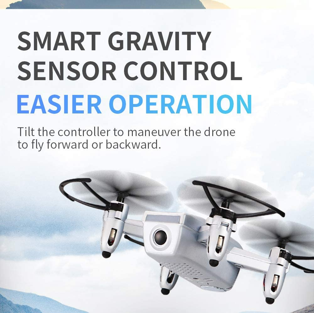 MMLC Mini JJRC H52 RC Drohne 6 Axis 2.4G Quadcopter Silver