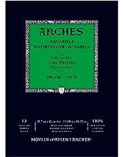 Arches Blocco per acquerelli, Legno, Bianco