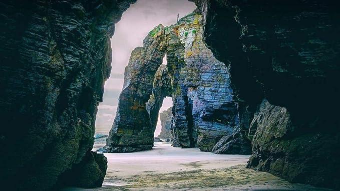 CZYSKY Playa De Las Catedrales, Galicia, España, Rompecabezas De ...