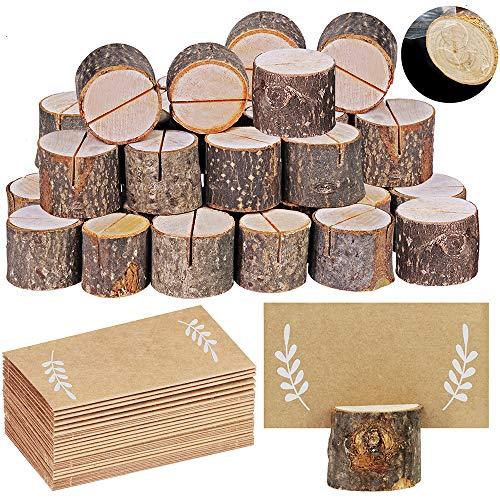 30 Pcs Rustic Wood