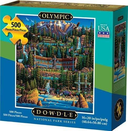 Dowdle Jigsaw Puzzle - Olympic National Park - 500 Piece