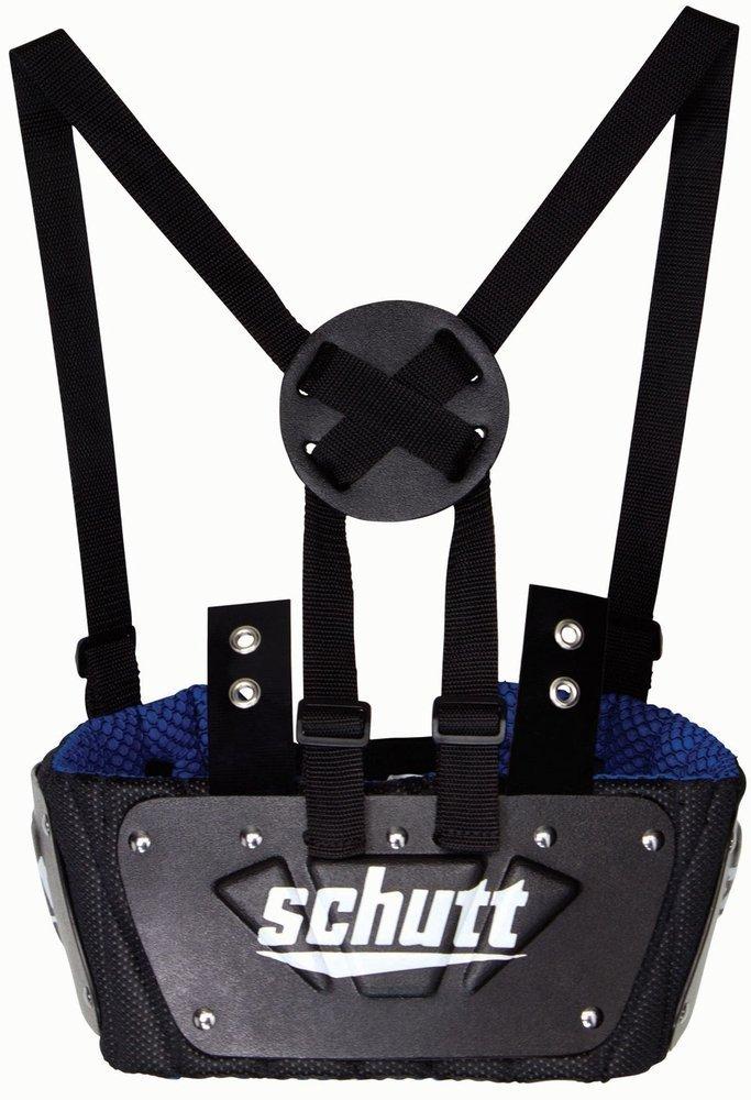 Schutt Youth Footballリブプロテクター B01J23GCBG ブラック/ブルー Small Small|ブラック/ブルー