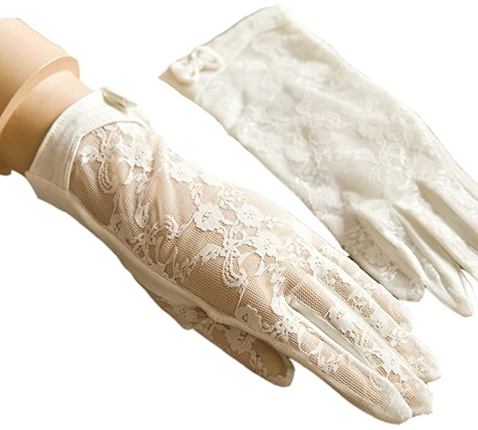 Vintage Style Gloves- Long, Wrist, Evening, Day, Leather, Lace Urban CoCo Vintage Spring and Summer Womens Lace Cotton Short Gloves $8.99 AT vintagedancer.com