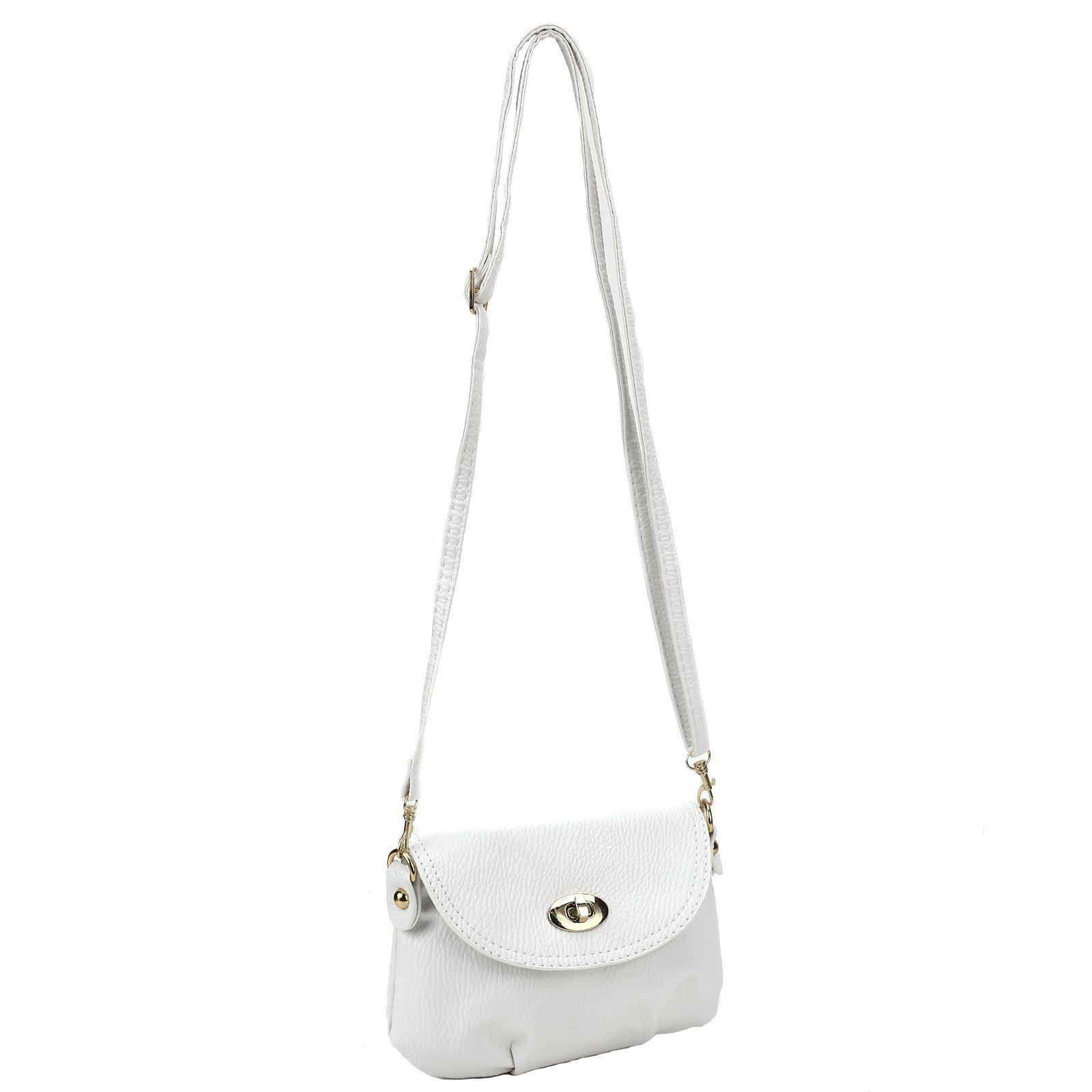 Ladies Mini SMALL Handbag Envelope Crossbody Shoulder Messenger Totes Bag Purse by Anladia (Image #1)