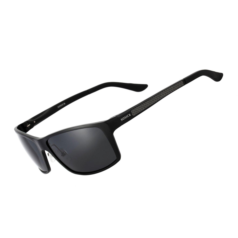 Soxick Gafas de Sol polarizadas para Hombre, para Conducción ...