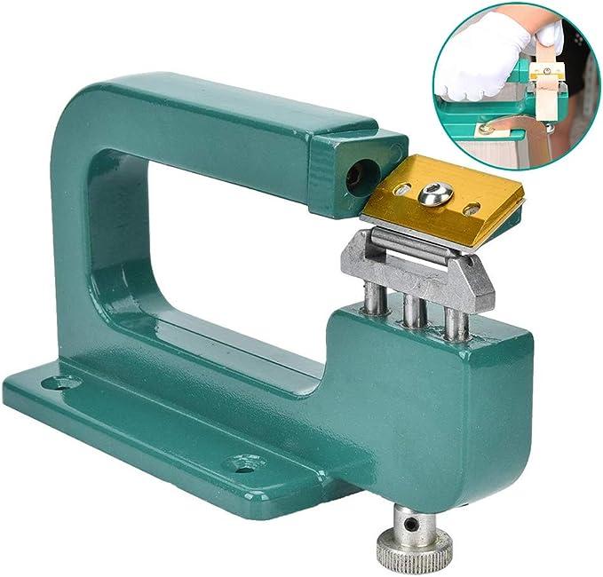 HEEPDD Máquina de Corte de Cuero, Máquina de Corte Manual de Borde ...