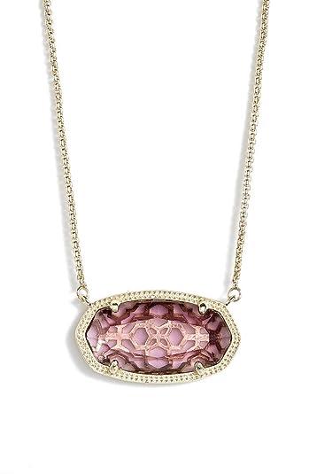 Amazon kendra scott delaney amethyst gold pendant necklace kendra scott delaney amethyst gold pendant necklace aloadofball Images