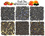 Best Loose Leaf Teas - Fruit-Tea Summer Tea Sampler, Refreshing Loose Leaf Tea Review