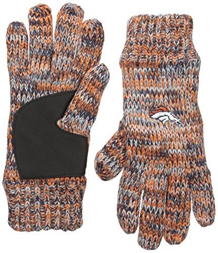Free NFL Denver Broncos Peak Glove, Blue