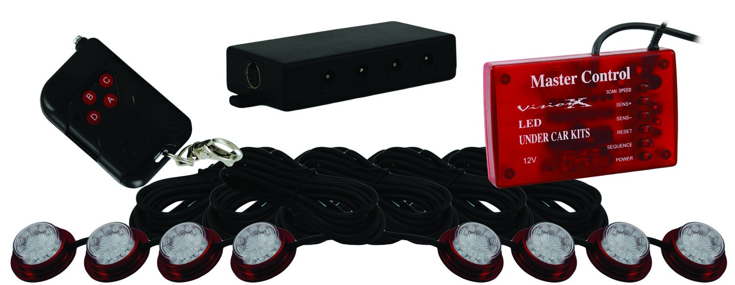 Vision X Lighting HIL-STR Red LED Strobe and Rock Light Kit
