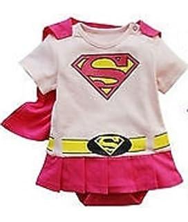 23e14756f088 SUPERMAN BATMAN SUPERGIRL BABY GROW FUNKY CUTE FANCY DRESS OUTFIT ...
