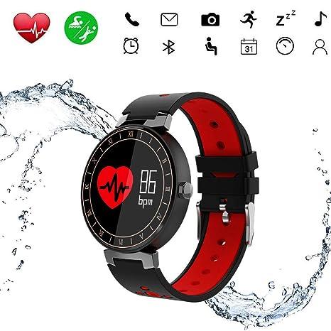Reloj Smartwatch Hombre Reloj Inteligente Mujer Ip68 Reloj Deportivo con Pulsometro Pulsera de Actividad Inteligente Fitness