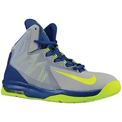 on sale 9ab92 2ab75 Nike Boys Air Max Stutter Step 2 Basketball Shoes (11.5 Little Kid M, Grey