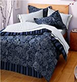 West Point Home Wainscott Bed in a Bag, Blue, Twin
