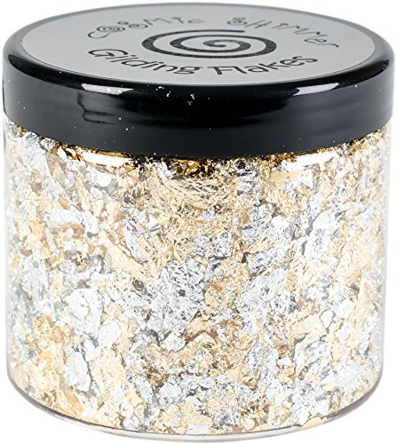 (Creative Expressions CSGF-SUNLI Cosmic Shimmer Gilding Flakes 200ml, Sunlight Speckle)