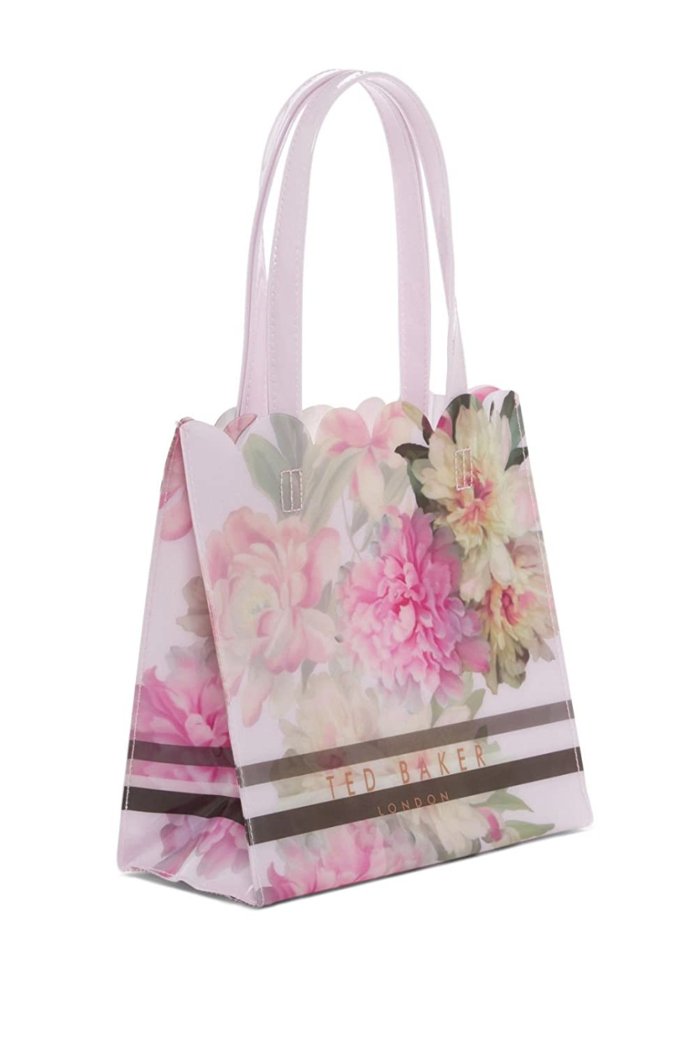 1180723f1 Ted Baker London Amalcon Painted Posie Small Icon PVC Tote Bag Baby Pink   Amazon.ca  Shoes   Handbags