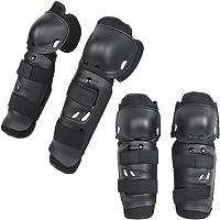 KT 4X Protecciones de rodilleras coderas para moto