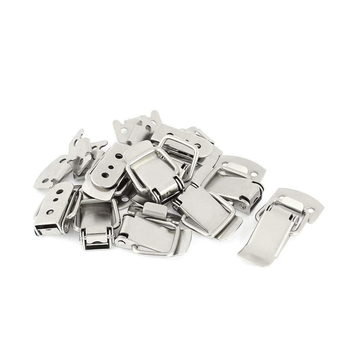 Saim Stainless Steel Case Chest Box Spring Draw Toggle Latch Catch Hasp , 4 Set LS17032100130