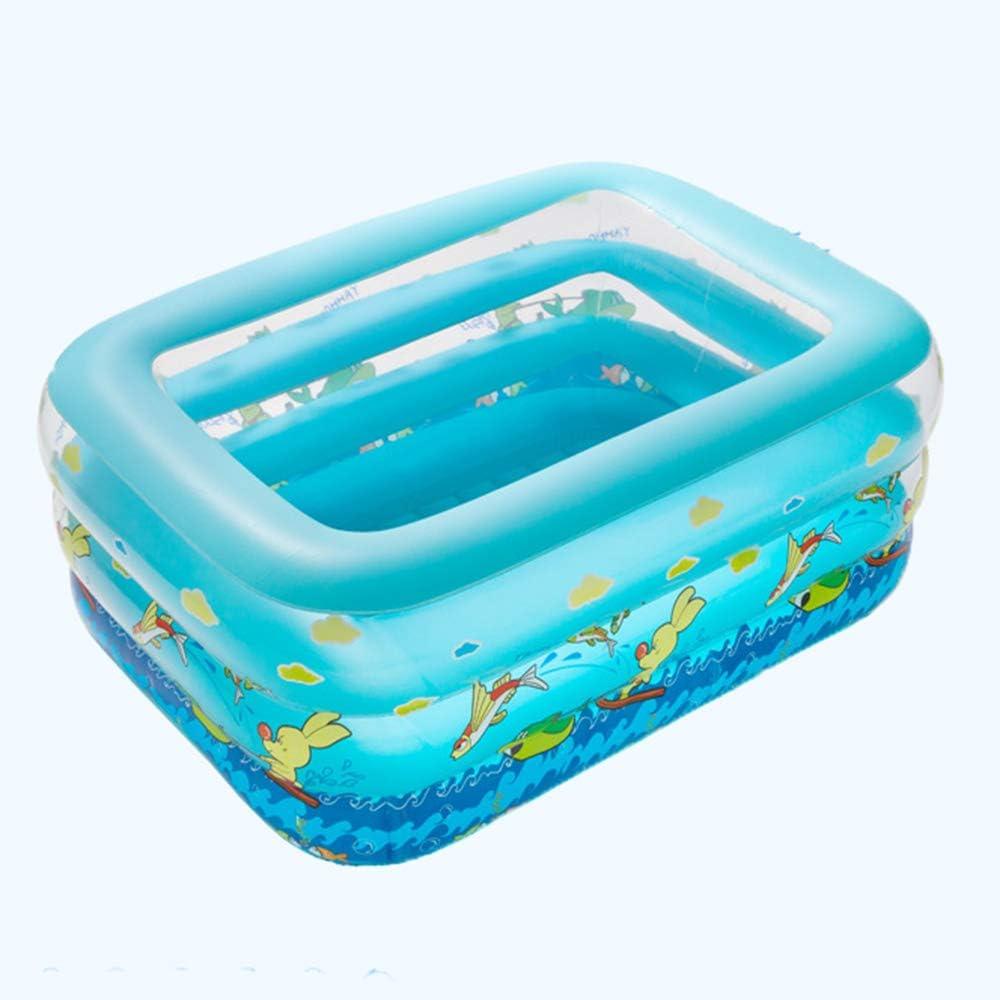 Mitrc Piscina Inflable para niños, Centro de natación Familiar ...
