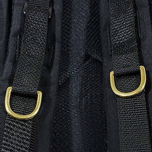 PARACORD PLANET D-Rings – 1/2 Inch, 3/4 Inch, 1 Inch, 1.25 Inch – Black, Silver, Gold, Brass & Gun Metal – 5, 10, 25, 50 & 100 Pack Sizes – Paracord Crafts by PARACORD PLANET (Image #6)