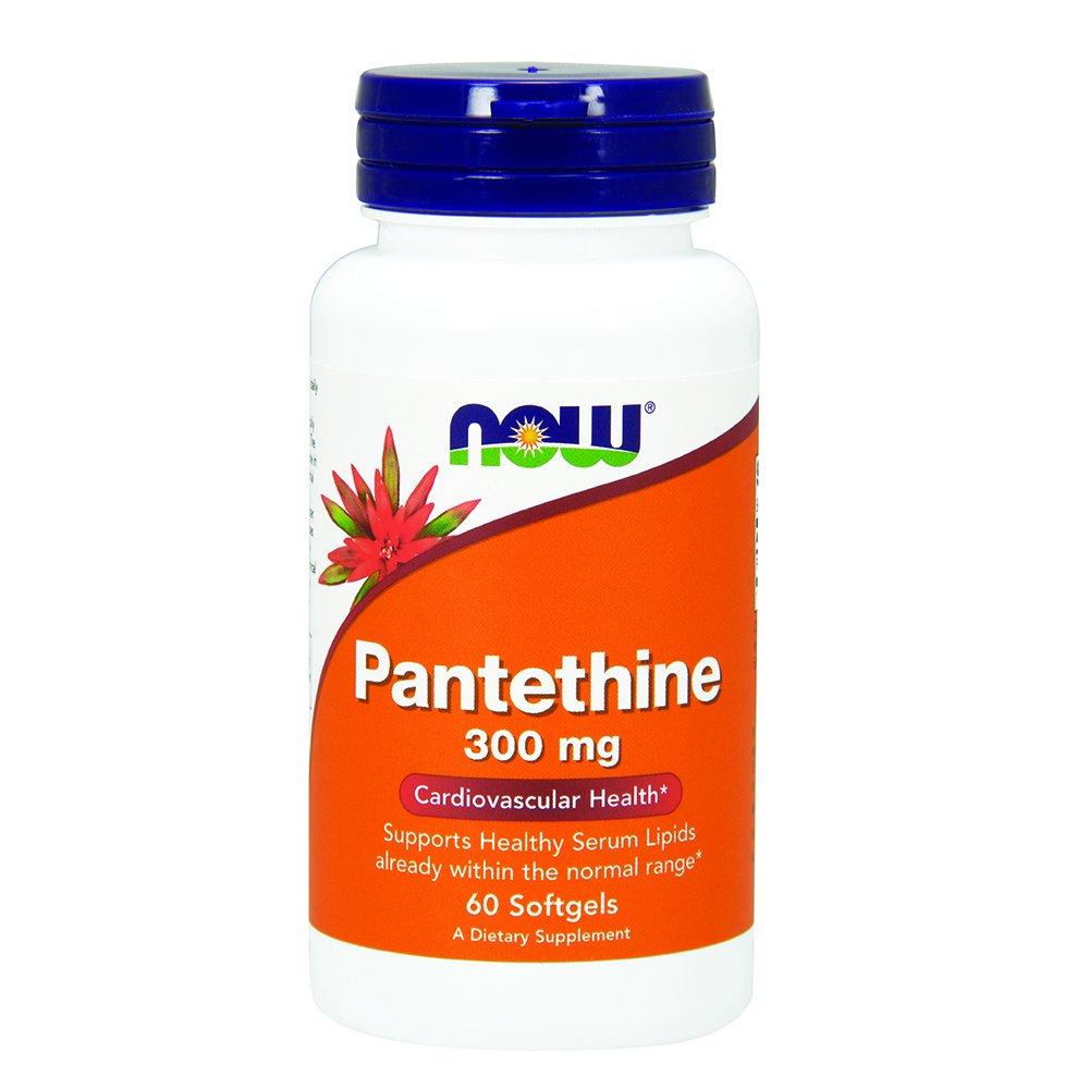 NOW Pantethine 300 mg,60 Softgels