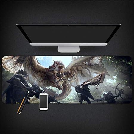 GUOFENG Alfombrilla de ratón para Estudio de Ordenador Monster Hunter World, Color 2, 800 * 300 * 3mm: Amazon.es: Electrónica