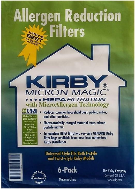 Kirby Bolsas Aspiradora antialérgicas universal Style (6 x) – Kirby ...