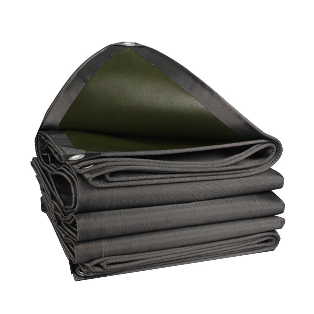 CHAOXIANG オーニング 厚い 防水 耐高温性 日焼け止め 耐摩耗性 耐寒性 耐食性 防塵の PVC ブラック、 550g/m 2、 厚さ 0.7mm、 16サイズ (色 : ブラック, サイズ さいず : 5×8m) B07DB7LYFY 5×8m|ブラック ブラック 5×8m