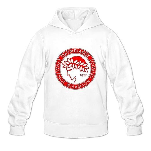 Amazon Com Men S Olympiacos Fc Long Sleeve Hoodies Sweatshirt Black