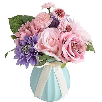 Amazon Bringsine Bridal Wedding Bouquet Flower Arrangement Home