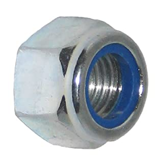 10 Bolt Base 8mm A2 Stainless Steel Nylon Insert Nyloc Nylock Lock Nuts M8 X 1.25mm Pitch