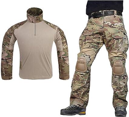 Tactical Military Combat Uniform Shirt /& Pants G3 Airsoft GEN3 Camo MultiCam BDU