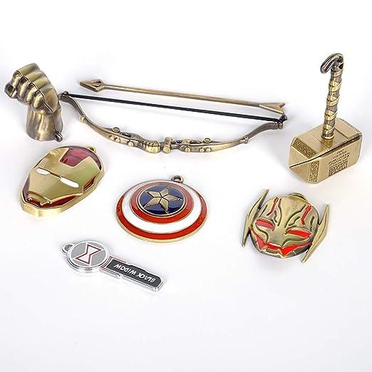 PIN Cosplay de superhéroes - Vengadores 4 Collar Iron Man ...
