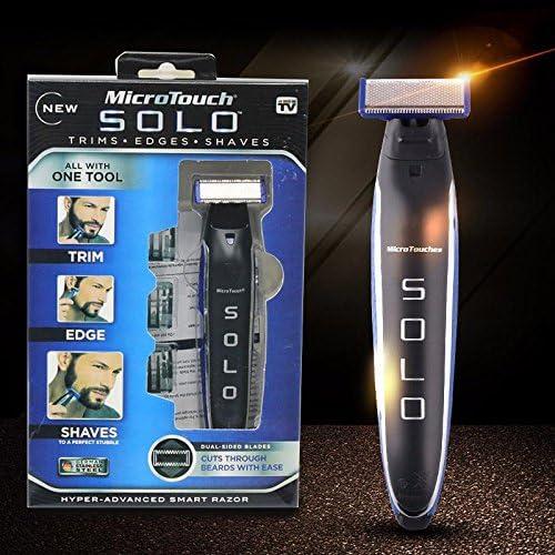 Microtouch Solo - Máquina de afeitar multiusos, de precisión con ...