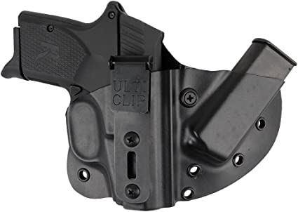 Compact Holster with Ulticlip for Remington RM380 Pistols Galloway Precision