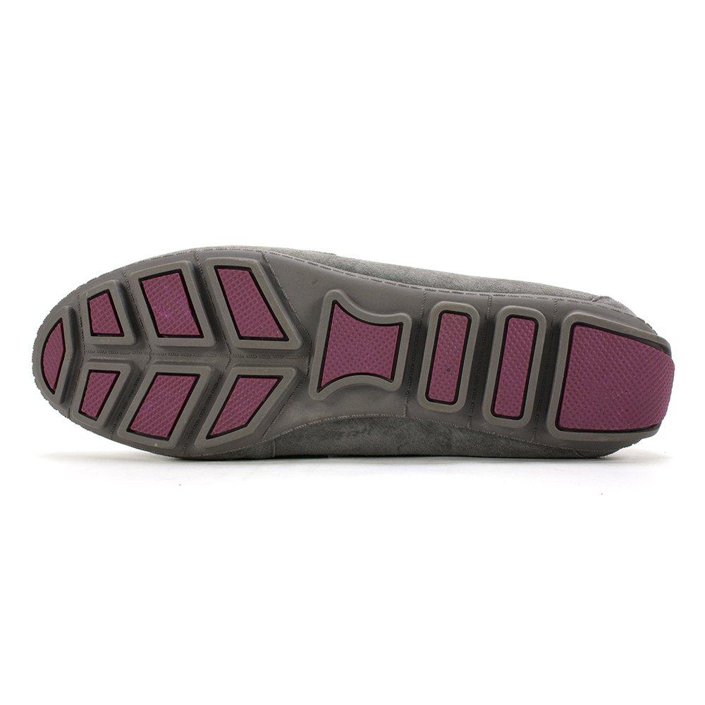 WHITE MOUNTAIN Women's Skipper Slip-On Loafer B00MQ4RX5S 6.5 B(M) US|Dark Charcoal