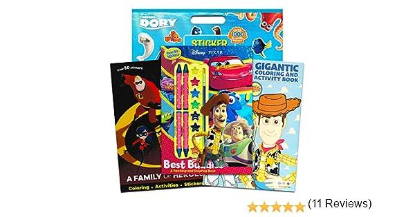 Disney Pixar Toy Story Libro de Colorear y Actividades – Pack de 3 ...