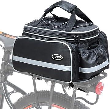 COFIT Bolsa para Maletero de Bicicleta, Bolso de Viaje Portátil ...