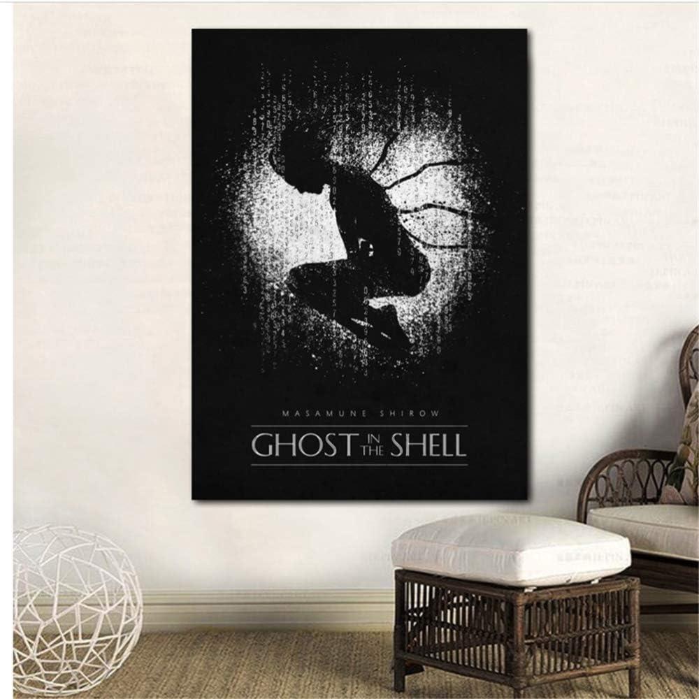 CAPTIVATE HEART Bild auf leinwand 30x50cm kein Rahmen Ghost In The Shell Film Leinwand Malerei Drucke Wandkunst Dekor Home Decorative