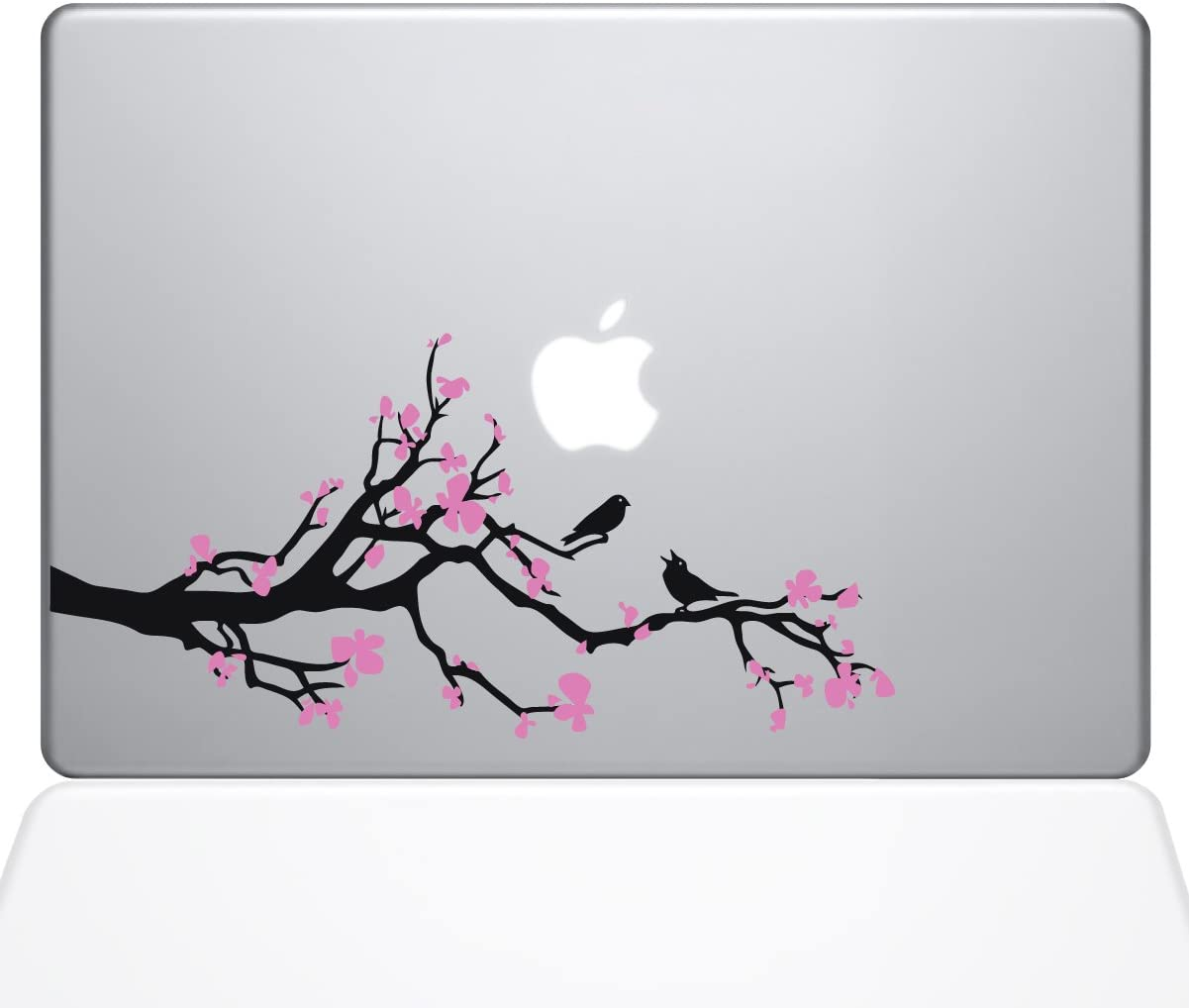 "The Decal Guru Cherry Blossom Branch MacBook Decal Vinyl Sticker - 13"" MacBook Pro (2016 & Newer) (1037-MAC-13X-NA)"