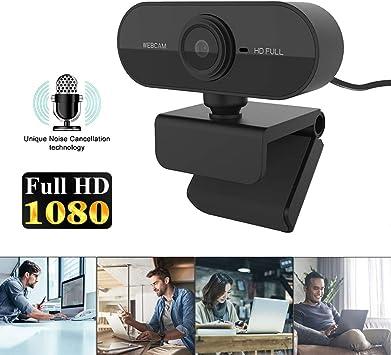 YOUKUKE Cámara Web para Pc Cámara de Video HD 1080P con Micrófono Incorporado Cámara para Computadora de 30 Fps para Transmisión de Juegos de Conferencia Negro: Amazon.es: Bricolaje y herramientas