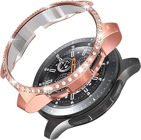 Anzela Funda para Samsung Galaxy Watch 46 mm SM-R800/Gear S3 ...