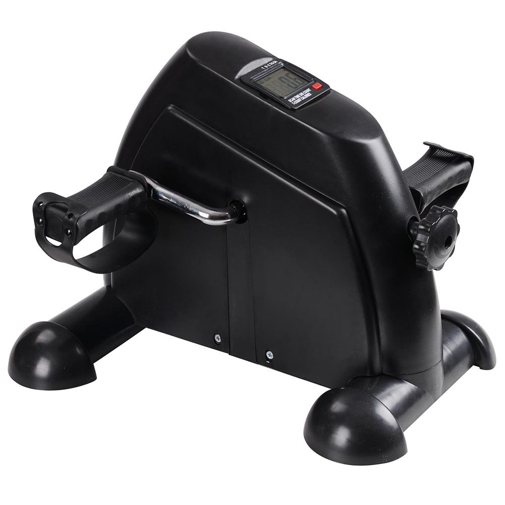 AW Indoor Exercise Bike Resistance Adjustable Mini Pedal Exerciser w/LCD Display by AW (Image #2)