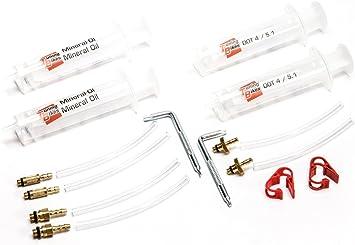 BHAIR5 Kit de purge de frein /à disque hydraulique pour v/élo Shimano SRAM Series comme indiqu/é Tektro Outils de r/éparation de freins . Magura