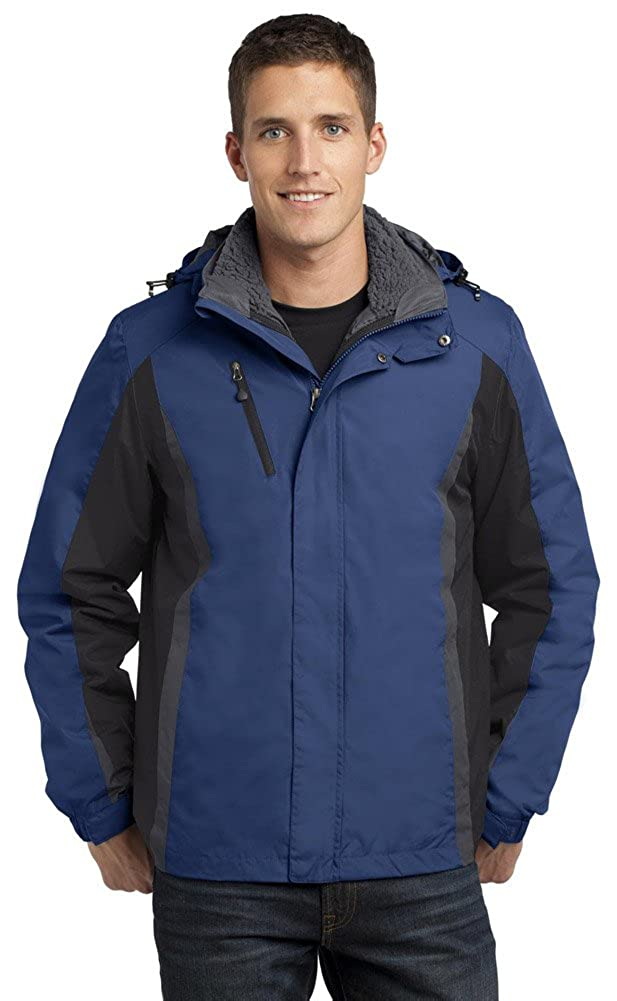 Port Authority OUTERWEAR メンズ B014W0THHA XXX-Large|Admiral Blue/ Black/ Magnet Grey Admiral Blue/ Black/ Magnet Grey XXX-Large