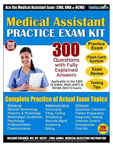 Amazon medical assistant practice exam kit 750 questions with medical assistant practice exam kit 750 questions with fully explained answers by shearer fandeluxe Choice Image